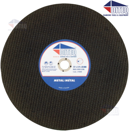 """Ductile High Speed Abrasive Blades 14"""" X .125"""""""