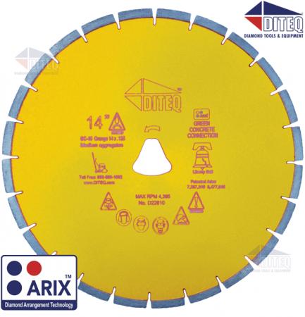 GC-46AX Yellow Arix Liberty Bell Blades 10mm