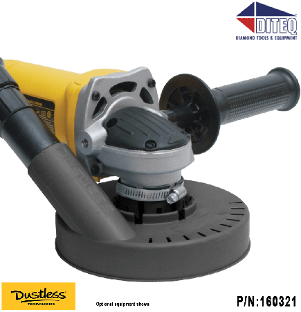 "Dustless Technologies™ Dustie for 6"" & 9"" Grinders"