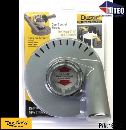 "Dustless Technologies™ Dustie for 4"" & 5"" Grinders"