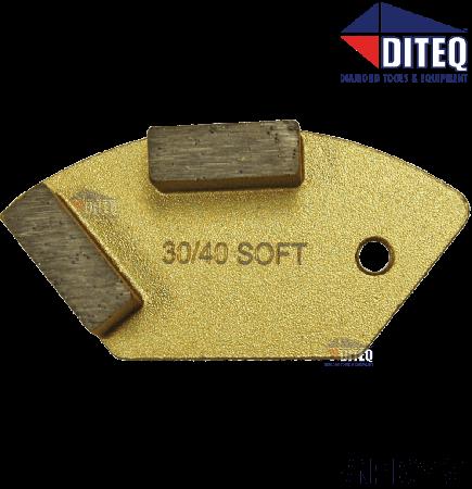 NCE Double Segments 100 Grit [Soft Bond]
