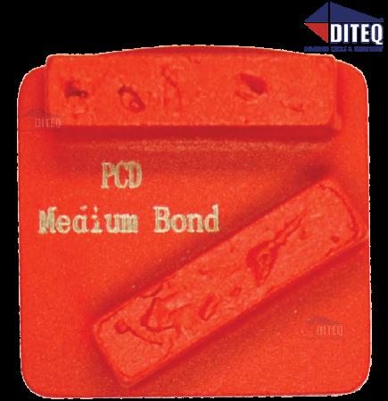 TEQ-Lok Coating Striper Med Bond, Crushed PCD Chips