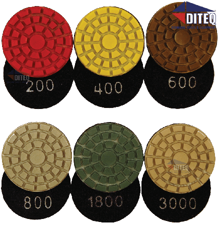"""2"""" Resin Polishing Pads Wet Only Use"""