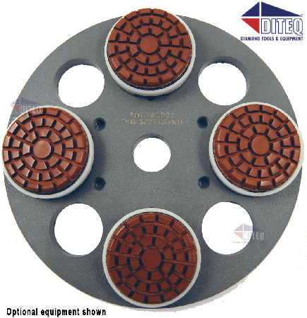 "2"" Polishing Pads Wet/Dry Semi Metal"