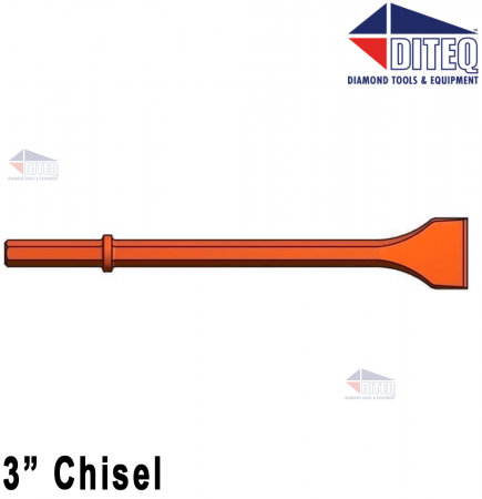 """3"""" Chisel 14"""" [Red]"""