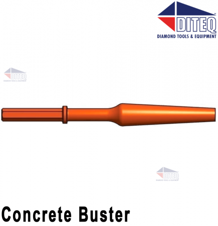 """Concrete Buster 14-1/2"""" [Red]"""