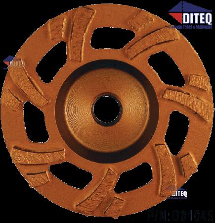 "7"" Turbo HD Grinding Wheels 7/8""-5/8"" 9 Seg"