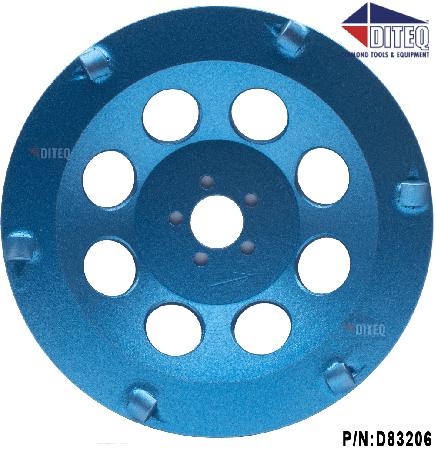 "PCD 6"" Cup Wheels For Hilti DG150"