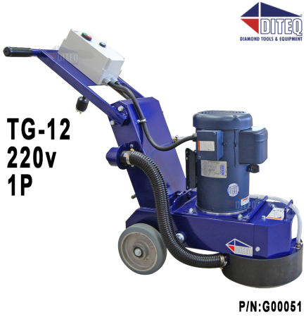DITEQ™ TG-12 Grinder / Polisher  3HP 220v 1P