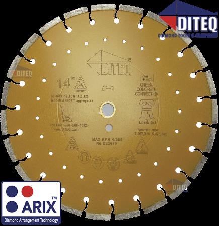 """GC-45AX Arix™ [Orange] 12""""x.125""""x1""""Arbor"""