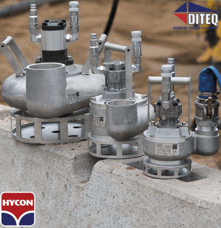 "Hycon 4"" Hydraulic Trash Pump 989 GPM"