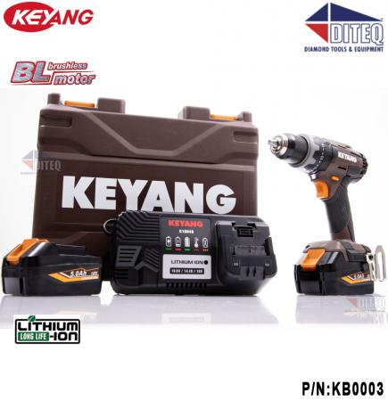"""18V 1/2"""" Drill/Driver Hammer, Brushless, Kit"""