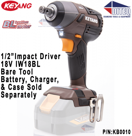 "18V 1/2"" Impact Wrench Bare Tool"