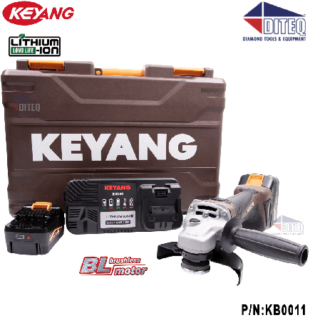 "5"" 18V Brushless Angle Grinder Kit"