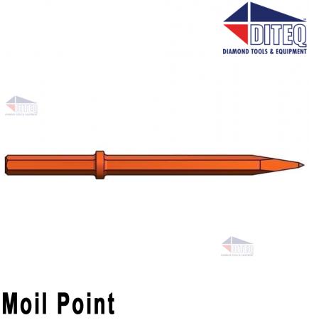 """Moil Point 18"""" [Blue]"""