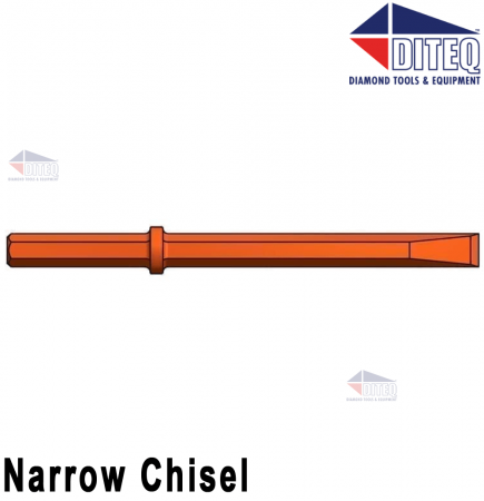 "Narrow Chisel 24"" [White]"