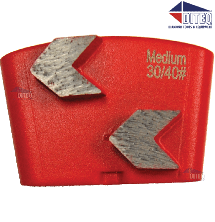 Arrowhead Wing Trapezoid Segments | 30/40 | Soft Bond