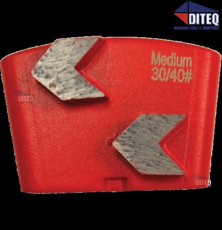 Arrowhead Wing Trapezoid Segments | 30/40 | Med Bond