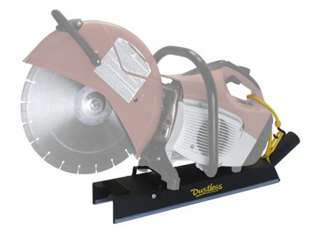 Dustless DustBuddie for High Speed Saw Dust Control