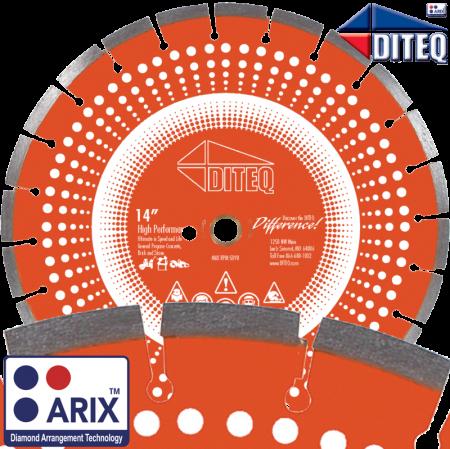 C-44AX Arix™ Combo Blades Concrete & Asphalt Blades