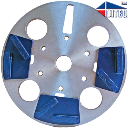 """8"""" TEQ-Lok Plate for TG-8 Grinders"""