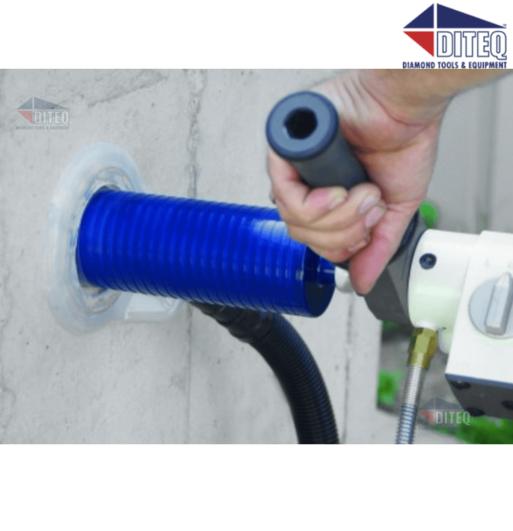 Dustless 4 Quot Dry Bit Buddie For Silica Dust Control