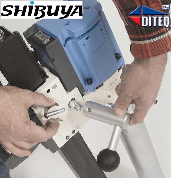 Shibuya Ts 403 Fixed Base Concrete Core Drill 39 4