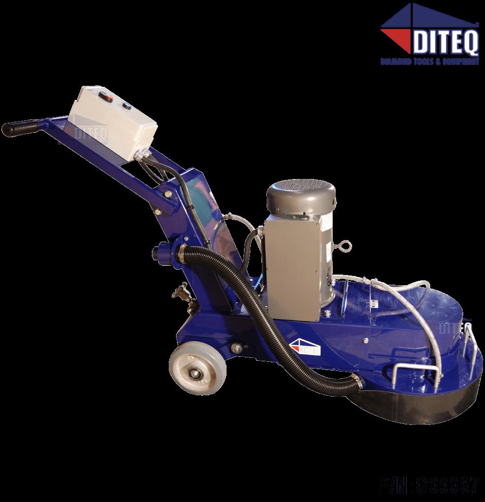 Diteq Tg 18 4hp 220v 1p Grinder Polishers Concrete Floor