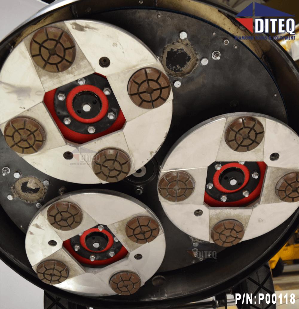 Diteq Tg 30 Production Propane Grinder Polisher