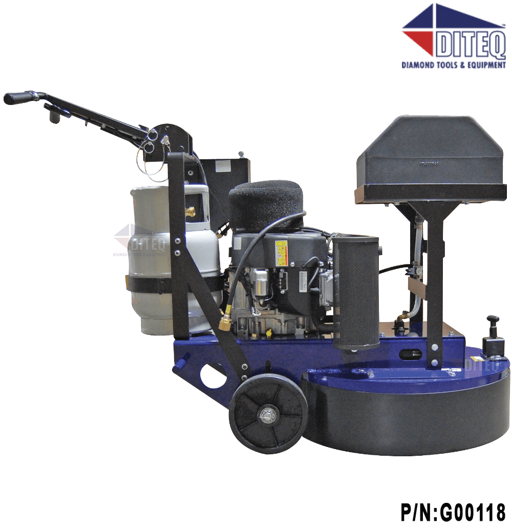 Diteq Tg 30 Production Propane Grinder Polisher