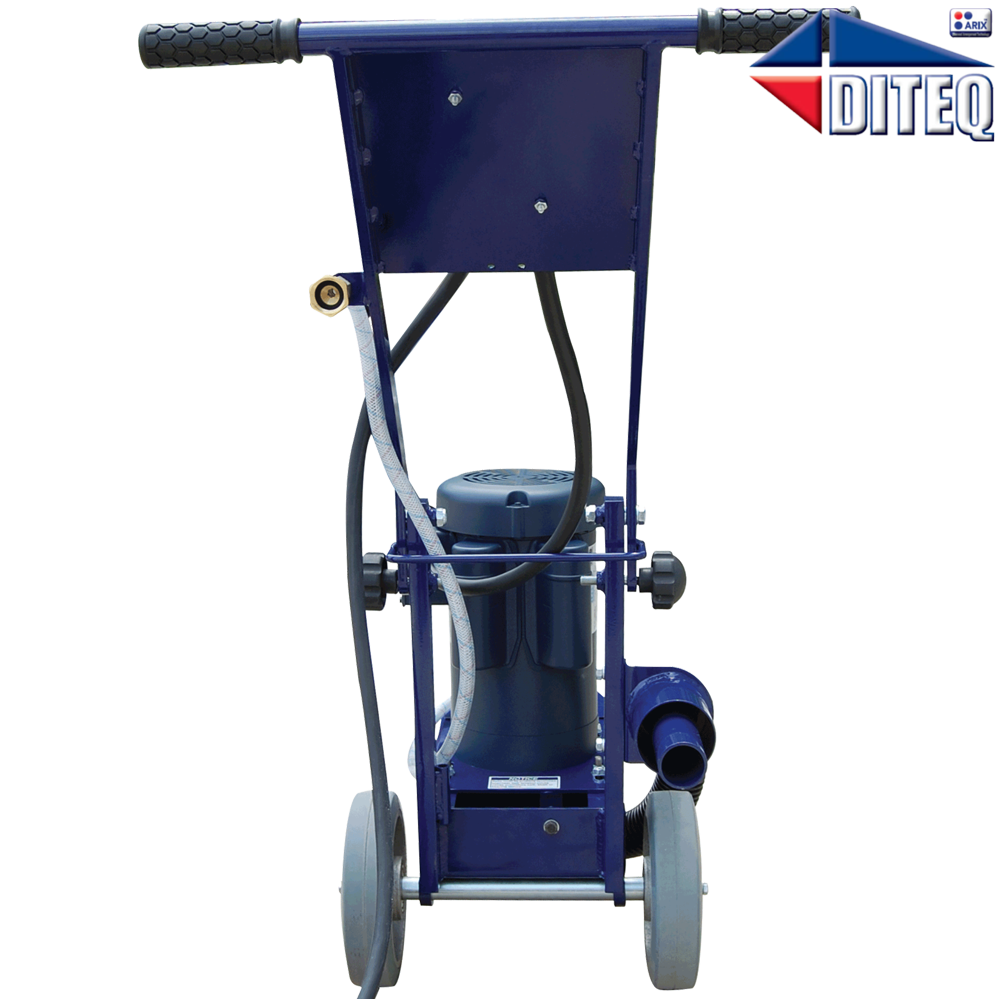 Diteq Tg 8 2 Hp Grinder With D91003 Plate Grinding