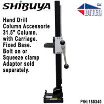 "Shibuya™ Fixed Base, 31.5"" Column, & Carriage"