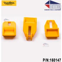 Dustless Wet/Dry Vacuum Lid Latch 6-Pack