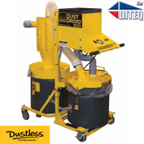Dustless Technologies™ HEPA, 300CFM Dust Droid