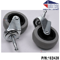Dustless 16 Gal Wet/Dry Vacuum Casters New Model D1642