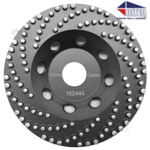 "7"" Vacuum Brazed Bead Wheels"
