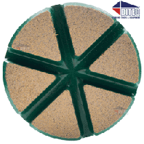 "3"" TEQ-Lok Transitional Ceramic 50 Grit-Green"