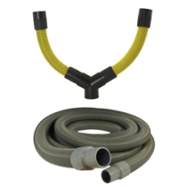 Dustless Y-Adapter And Hose Kit for Dust Control