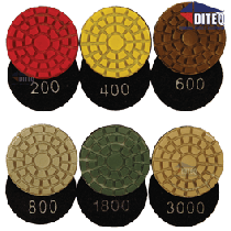 "2"" Resin Polishing Pads Dry Use Only"
