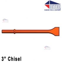 """3"""" Chisel 24"""" [White]"""