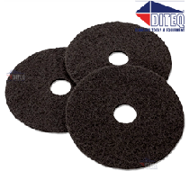 Black Floor Stripper Pads