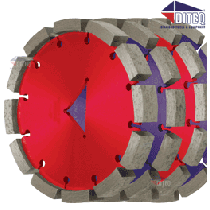 "C-TEQ Saw Blades C-31 Concrete 6"" x 3/8"""
