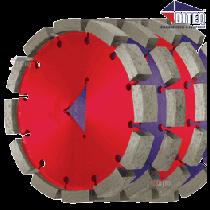 "C-TEQ Saw Blades C-31 Concrete 6"" x 3/4"""