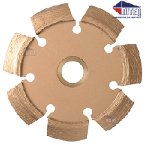 "CRC-35 4"" x .375"" Beveled V Crack Chaser 5/8""-11 Threaded"