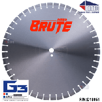 """C-53AXBRH BRUTE 20"""" x .187"""" x 1"""""""