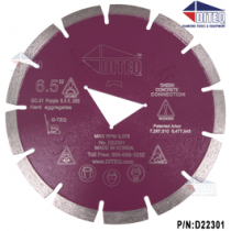 G-TEQ Green Concrete Blades Purple
