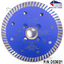 "S-31 5"" Turbo Rim Tile and Stone Blades"