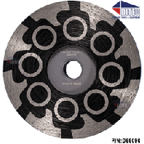 """BRUTE 4"""" Wet/Dry Resin Filled Cup Wheels (Coarse)"""