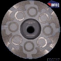"""BRUTE 4"""" Wet/Dry Resin Filled Cup Wheels (Medium Grit)"""
