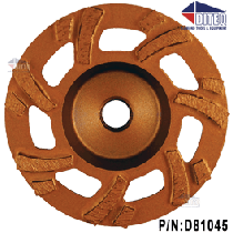 "4"" Turbo HD Grinding Wheels 7/8""-5/8"" 7-Seg"